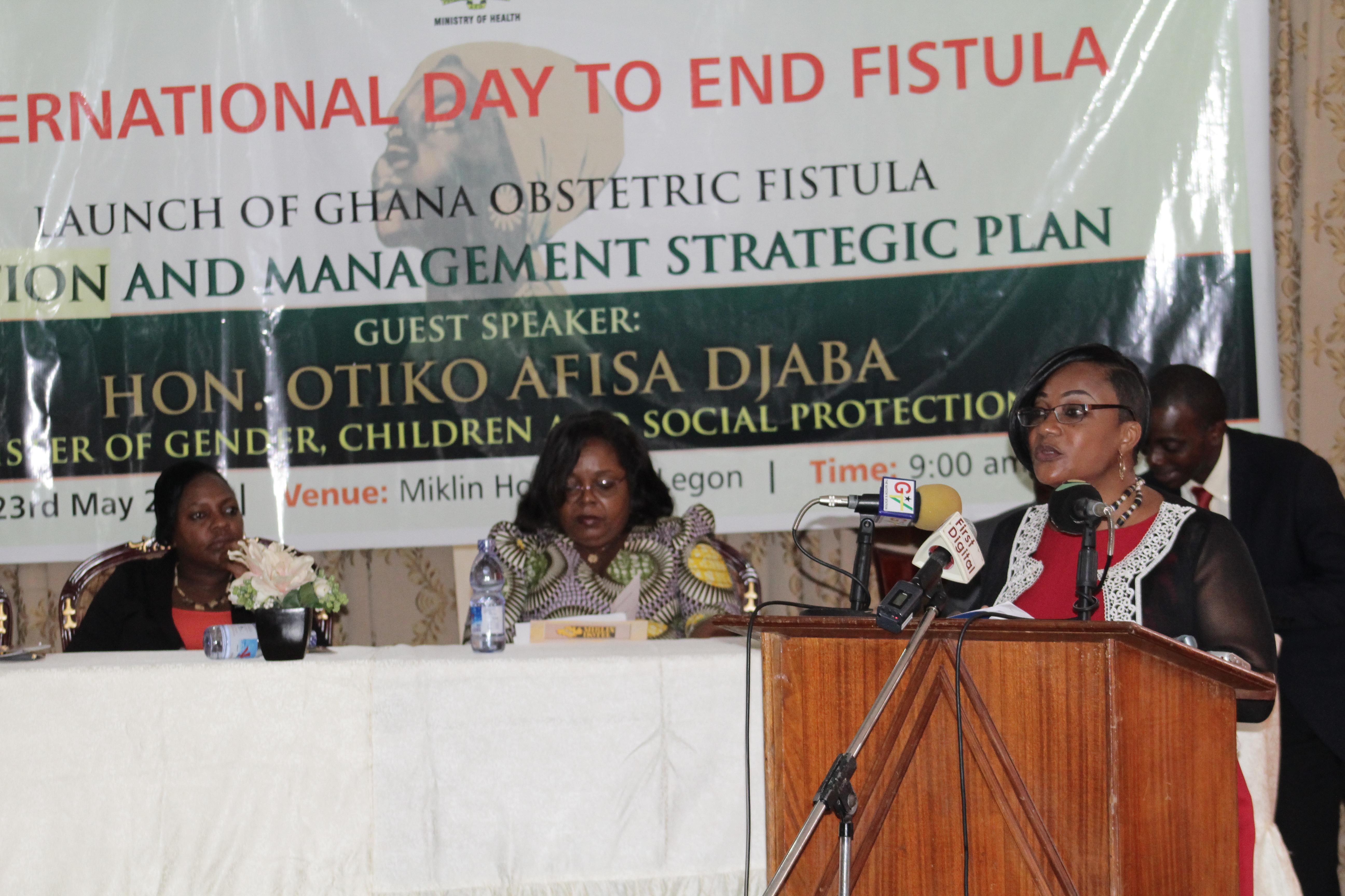 World Fistula Day Ghana Launch