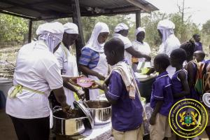 Celebration of the 5th African Day of School Feeding in Wenchi Nkonsia