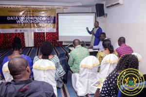GNHR's Data Dissemination Workshop in Bolga-2
