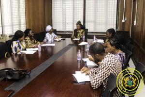 Meeting with ECOWAS Delegation